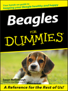 Beagles For Dummies (eBook)