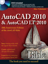 AutoCAD 2010 and AutoCAD LT 2010 Bible (eBook)