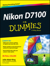 Nikon D7100 For Dummies (eBook)