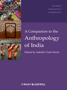 A Companion to the Anthropology of India (eBook)