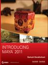 Introducing Maya 2011 (eBook)