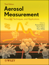 Aerosol Measurement (eBook): Principles, Techniques, and Applications