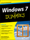 Windows 7 For Dummies, Enhanced Edition (eBook)
