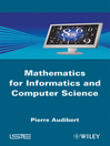 Mathematics for Informatics and Computer Science (eBook)