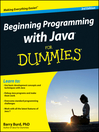 Beginning Programming with Java For Dummies (eBook)