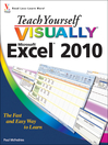 Teach Yourself VISUALLY Excel 2010 (eBook)