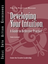 Developing Your Intuition (eBook): A Guide to Reflective  Practice