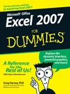Excel 2007 For Dummies (eBook)