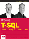 Beginning T-SQL with Microsoft SQL Server 2005 and 2008 (eBook)