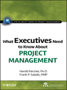 What Executives Need to Know About Project Management (eBook)
