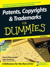 Patents, Copyrights & Trademarks For Dummies® (eBook)