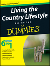 Living the Country Lifestyle All-In-One For Dummies (eBook)