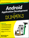 Android Application Development For Dummies (eBook)