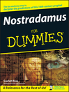 Nostradamus For Dummies (eBook)