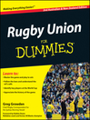 Rugby Union For Dummies (eBook)