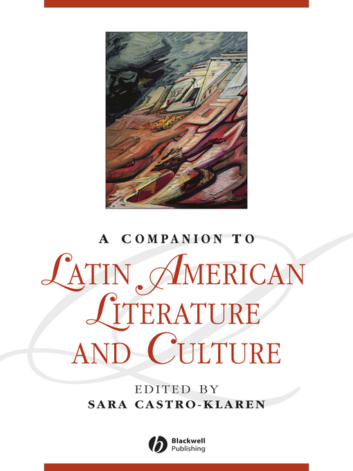 A Companion to Latin American Literature and Culture (eBook)