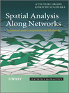 Spatial Analysis Along Networks (eBook): Statistical and Computational Methods