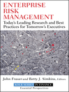 Enterprise Risk Management (eBook): Today's Leading Research and Best Practices for Tomorrow's Executives