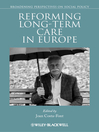 Reforming Long-term Care in Europe (eBook)
