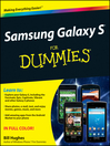 Samsung Galaxy S For Dummies (eBook)