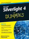 Microsoft Silverlight 4 For Dummies (eBook)