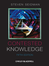 Contested Knowledge (eBook): Social Theory Today