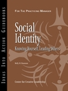 Social Identity (eBook): Knowing Yourself, Knowing Others