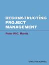 Reconstructing Project Management (eBook)