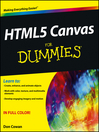 HTML5 Canvas For Dummies (eBook)