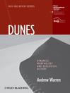 Dunes (eBook): Dynamics, Morphology, History