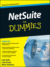 NetSuite For Dummies (eBook)