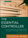 The Essential Controller (eBook): An Introduction to What Every Financial Manager Must Know