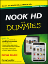 NOOK HD For Dummies, Portable Edition (eBook)