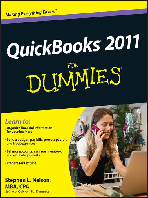QuickBooks 2011 For Dummies (eBook)