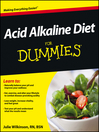 Acid Alkaline Diet For Dummies (eBook)