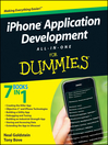 iPhone Application Development All-In-One For Dummies (eBook)