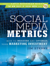 Social Media Metrics (eBook): How to Measure and Optimize Your Marketing Investment