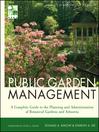 Public Garden Management (eBook)