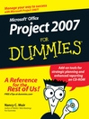Microsoft Office Project 2007 For Dummies (eBook)