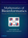Mathematics of Bioinformatics (eBook): Theory, Methods and Applications