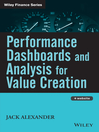 Performance Dashboards and Analysis for Value Creation (eBook)