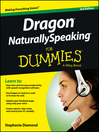 Dragon NaturallySpeaking For Dummies (eBook)