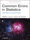 Common Errors in Statistics (and How to Avoid Them) (eBook)