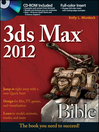 3ds Max 2012 Bible (eBook): Bible Series, Book 781