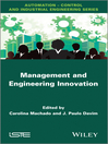 Management and Engineering Innovation (eBook)