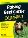 Raising Beef Cattle For Dummies (eBook)