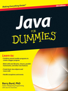 Java For Dummies (eBook)
