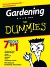 Gardening All-in-One For Dummies (eBook)
