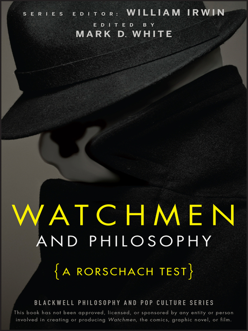 Watchmen and Philosophy (eBook): A Rorschach Test