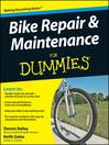 Bike Repair & Maintenance For Dummies® (eBook)